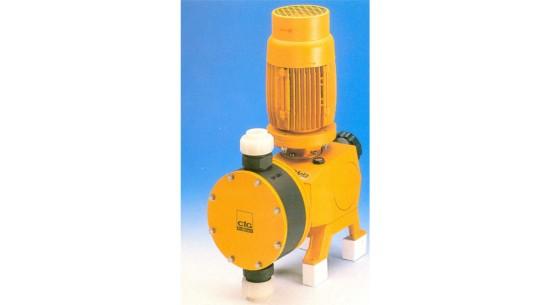 ProMinent diaphragm motorised metering pump type