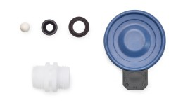 <p>Spare Parts Kits and Spare Diaphragms for Solenoid-Driven Metering Pump gamma/ XL</p>